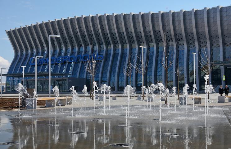 Новый терминал аэропорта столицы Крыма обслужил первые 100 тыс. пассажиров
