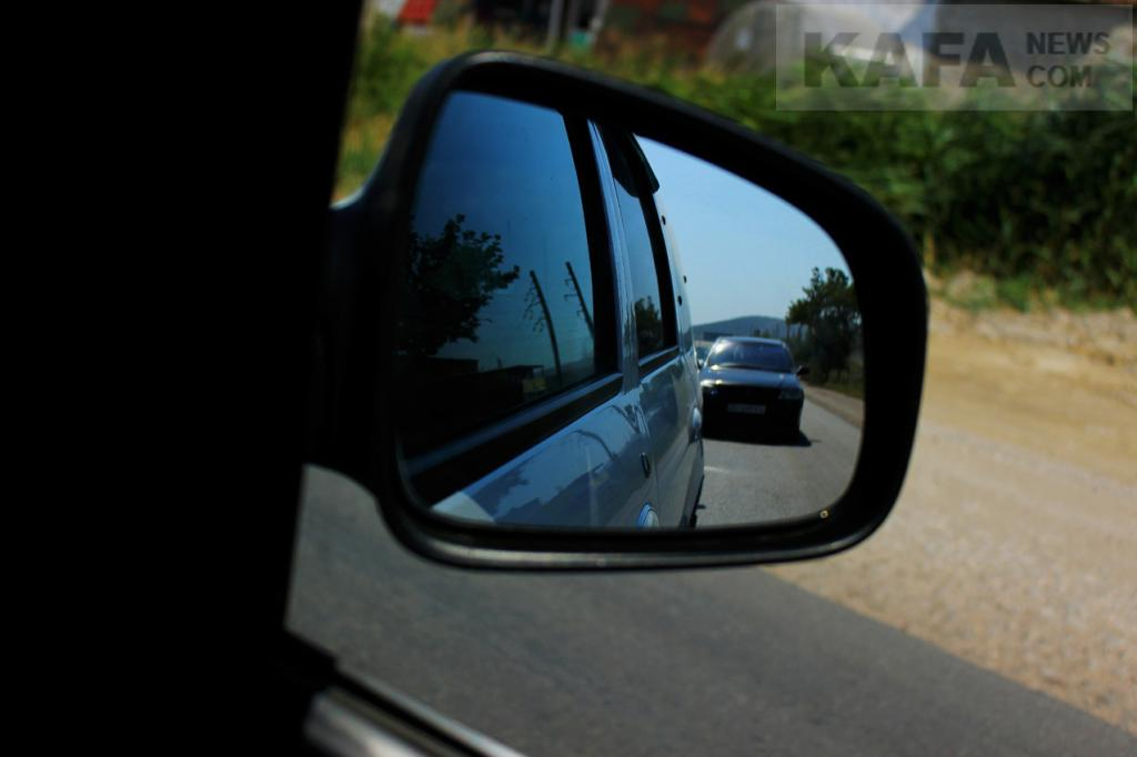 Фото новости - Автомобильные пробки на Керченском шоссе(фоторепортаж)