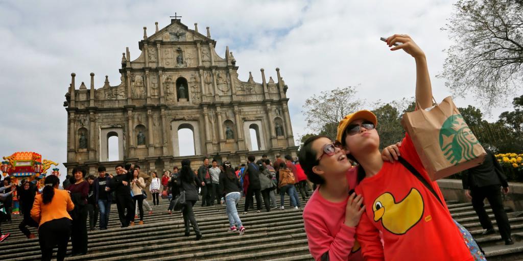 Самыми щедрыми туристами вследующем году стали китайцы