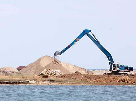 Загод добыча песка съела 5км Севастополя