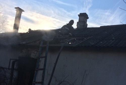 Вчера вСимферополе напожаре спасли мужчину