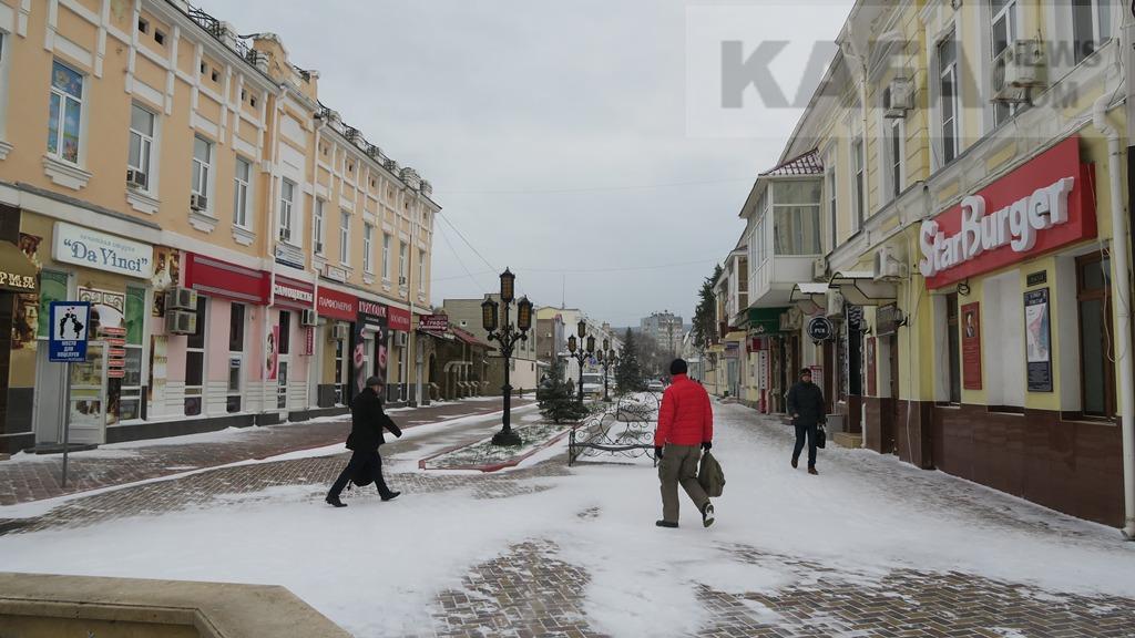 Фото новости - Феодосия: второе пришествие снега в новом году(фоторепортаж)