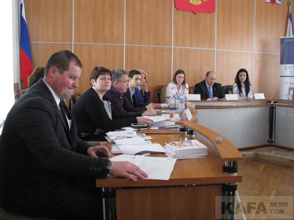 Фото новости - Феодосийские предприниматели приняли участие в круглом столе(фоторепортаж)