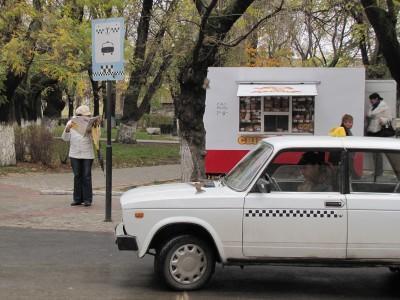 Фото новости - Феодосийские таксисты не прошли проверку
