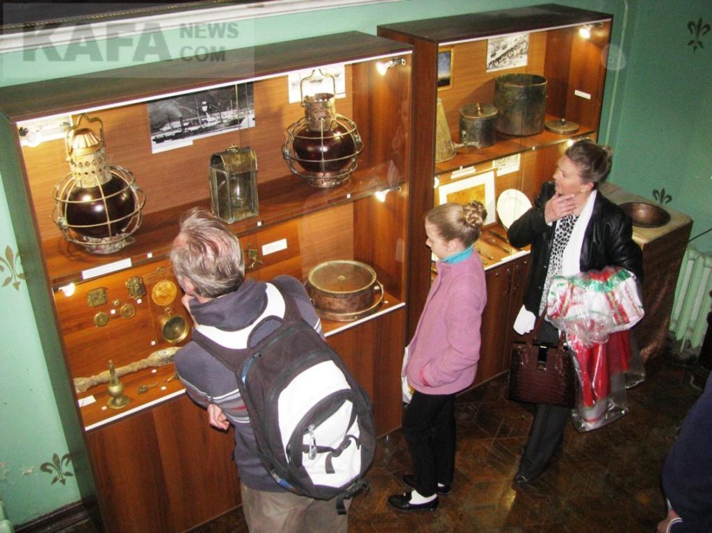 Фото новости - Феодосийский музей подводной археологии представит новую выставку