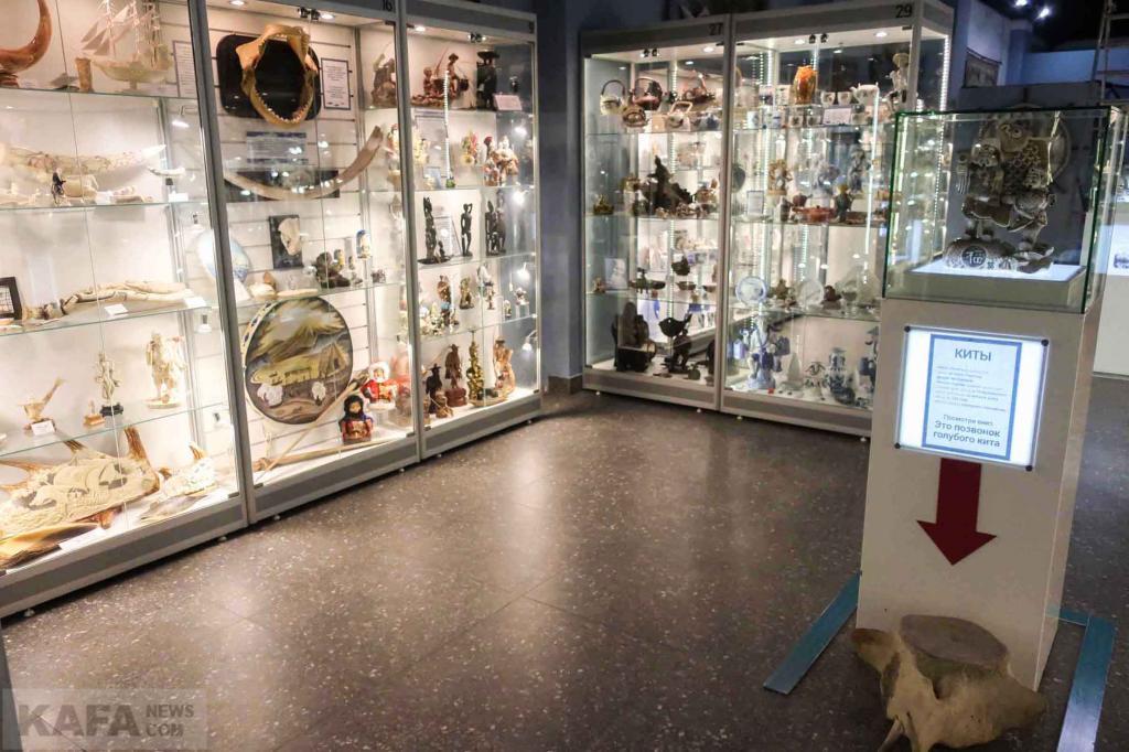 Фото новости - Феодосийский Музей рыбы и рыболовства получил новый формат и здание(фоторепортаж)