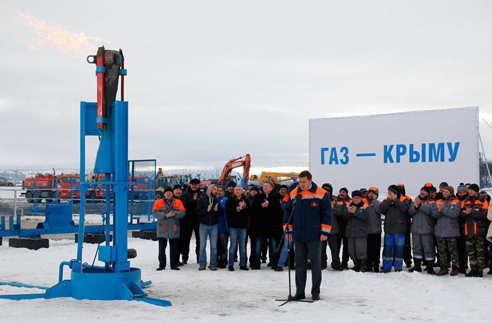 Поставки газа вКрым погазопроводу изКубани начнутся вближайшие дни
