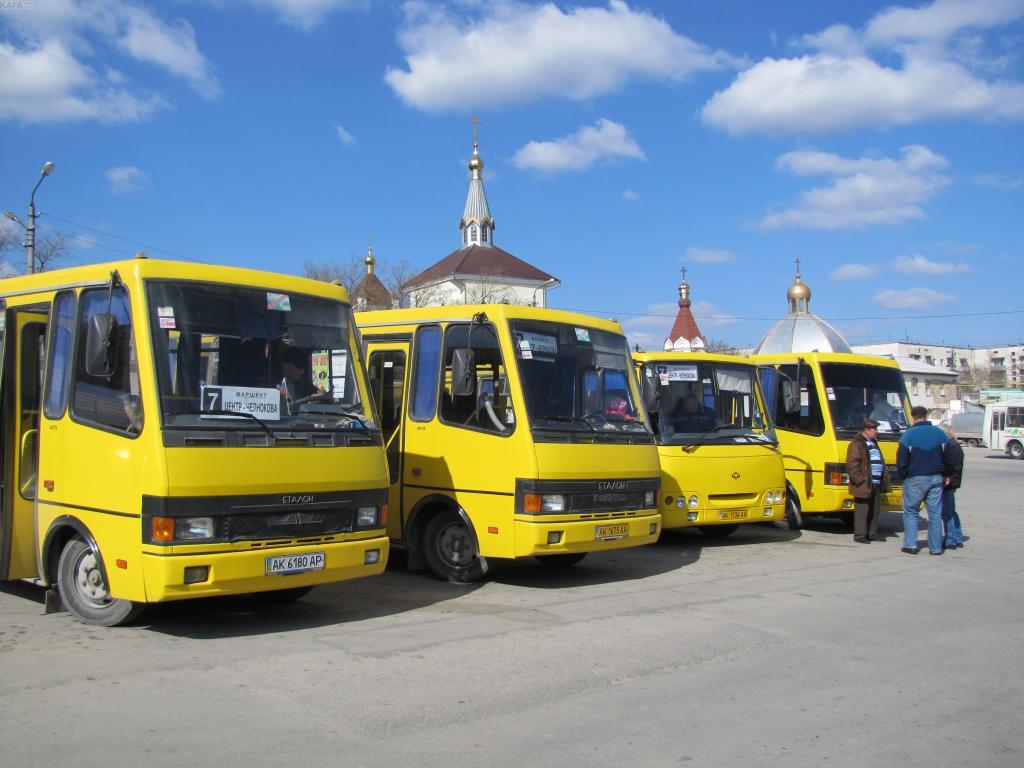 Маршрутку на украинских номер оштрафовали в Крыму на 150 тыс.рублей