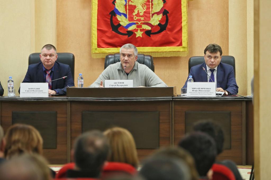 «Клюдям наплевательское отношение»,— руководитель Крыма Сергей Аксёнов оработе керченских МУПов