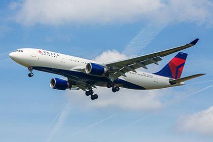 Delta Airlines остановила рейсы в Российскую Федерацию довесны следующего года