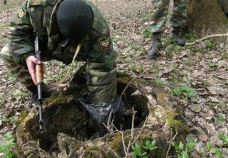 УКазантипского залива отыскали тайник стротилом ипатронами