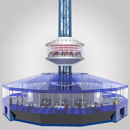 Фото новости - На набережной Феодосии хотят установить башню кругового обзора