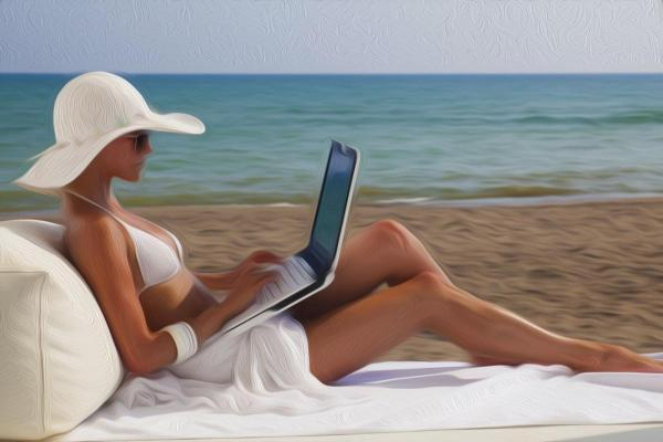 Фото новости - На центральных пляжах Феодосии пока нет бесплатного интернета