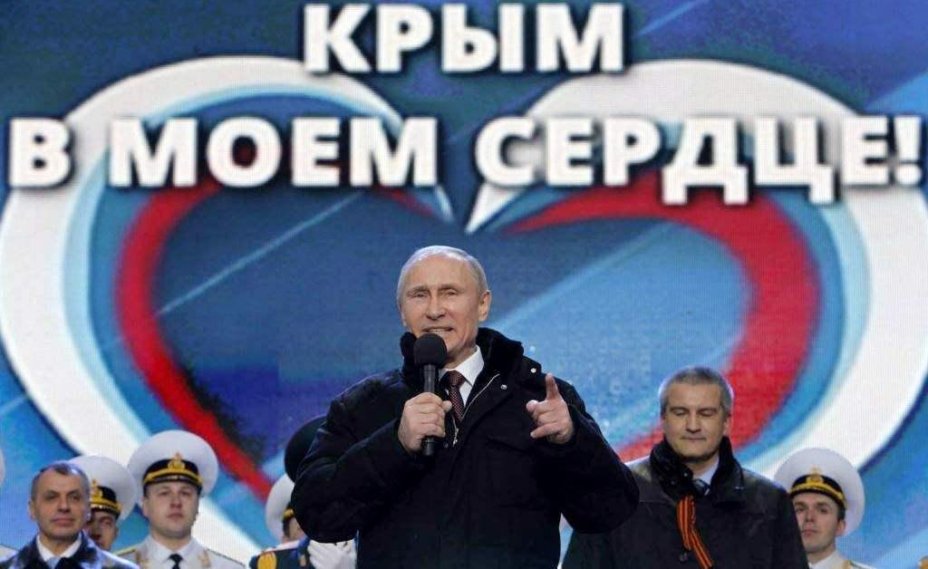Аксёнов объявил, что первым поКрымскому мосту должен пройти Путин
