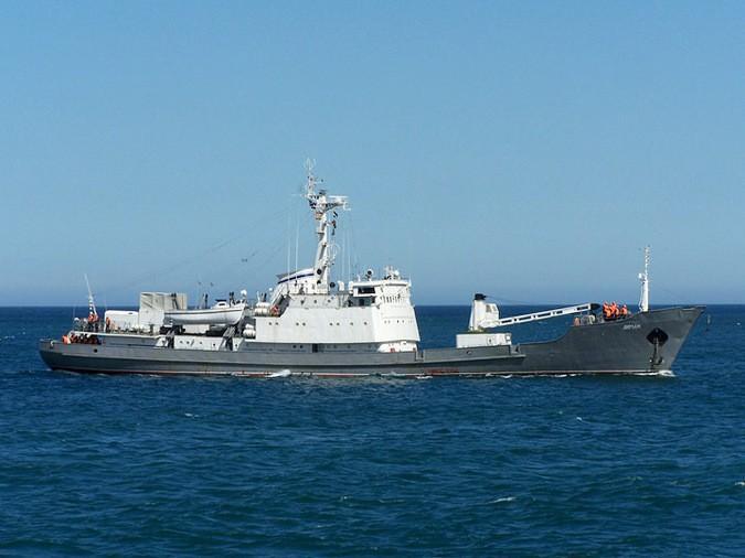 Стали известны детали спасения экипажа русского корабля «Лиман»