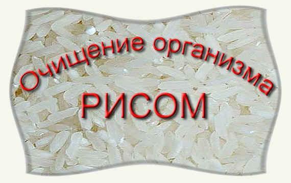 Очищение организма в домашних условиях рисом