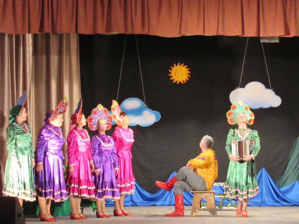 Сценарий концерта от на день деревни