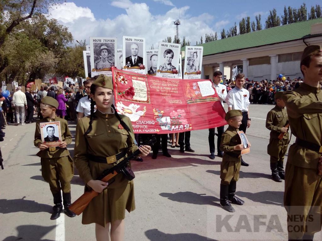 Фото новости - Патриотическая акция «Знамя Победы» станет ежегодной