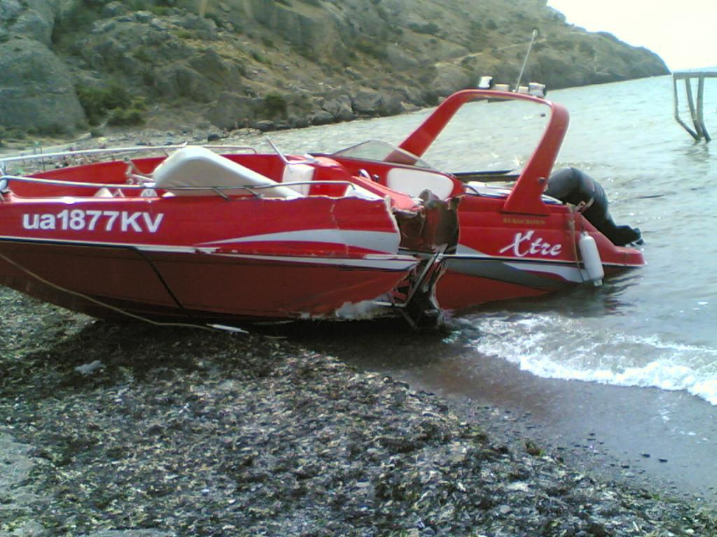 аварии лодок и катеров