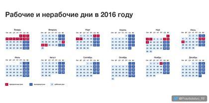 Официальные праздники в россии 2017 год