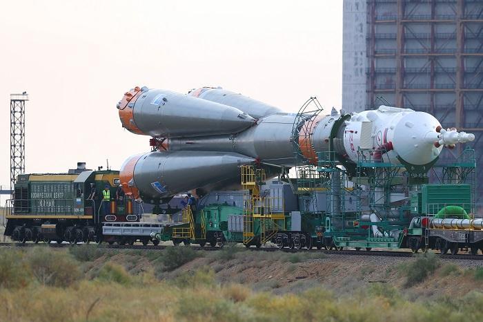 Корабль «СоюзМС» отделился от 3-й ступени ракеты-носителя