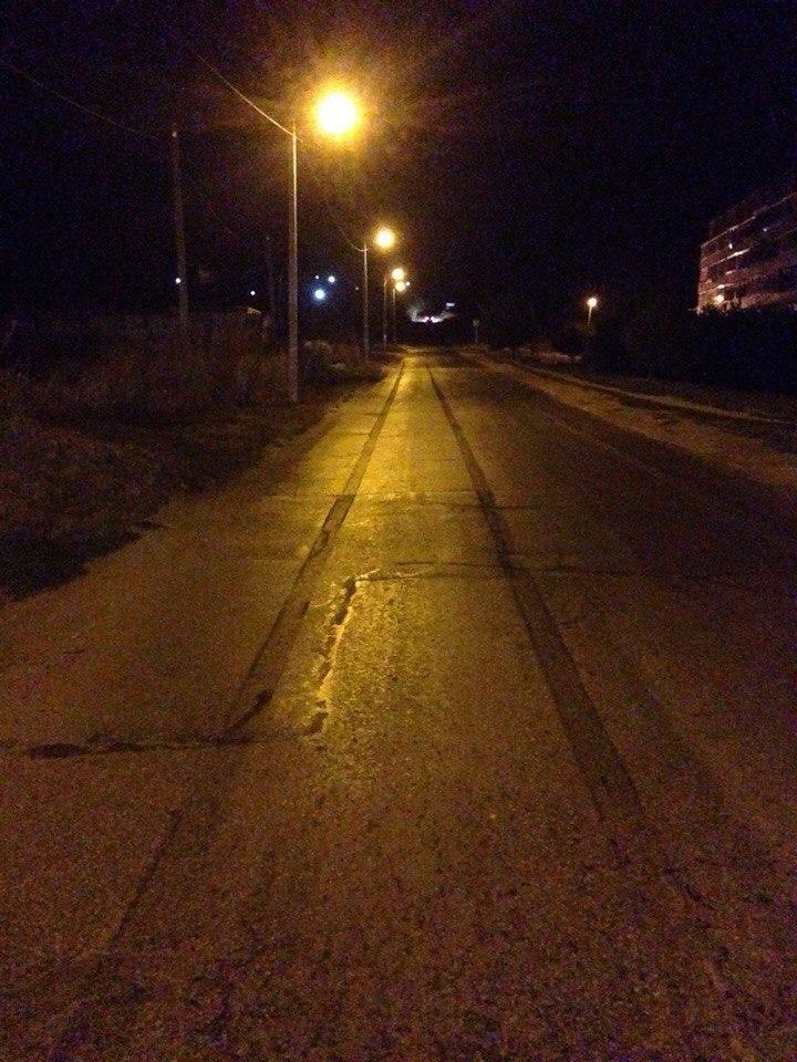 Фото - Сегодня ночью в Феодосии на улице Челнокова произошло ДТП