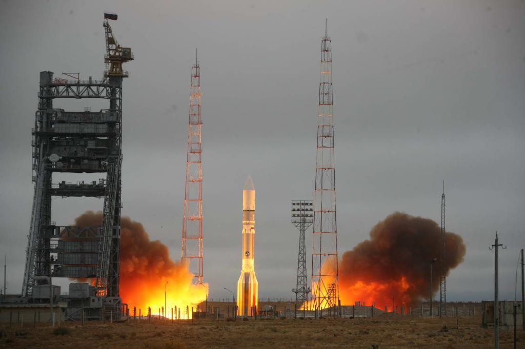 Сегодня с Байконура после годичного перерыва стартовала ракета-носитель Протон