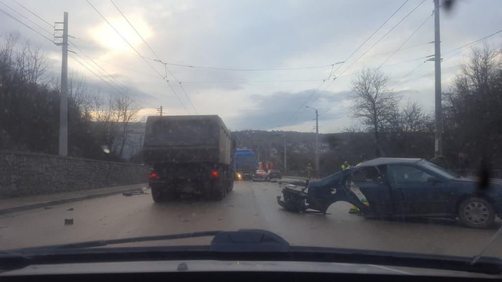 Возникла информация опострадавших вДТП под Симферополем