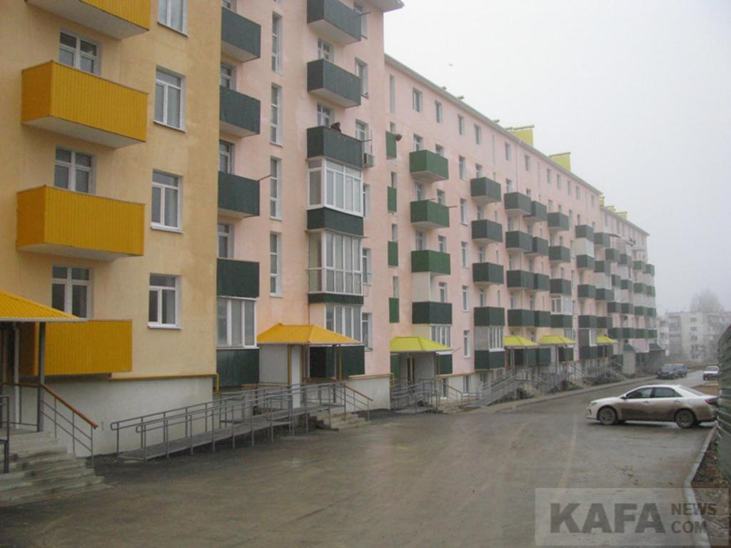 Фото новости - Сорок квартир в доме №2 по ул.Габрусева переданы в собственность Феодосии