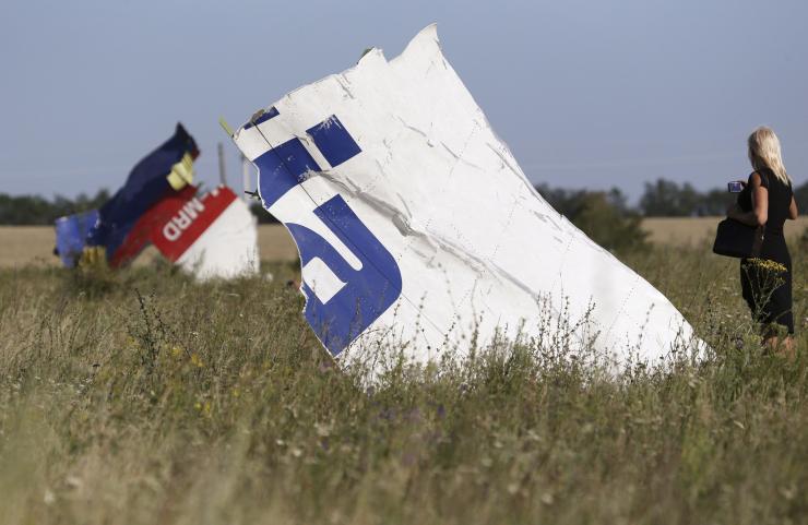 Украина проинформировала Нидерландам право проводить суд поделу окрушении MH17