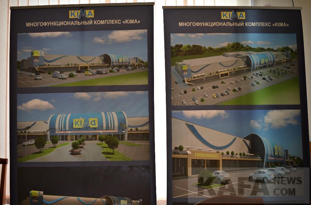 Фото новости - Торговый центр «Кима» откроют в Феодосии в следующем году (видео)(фоторепортаж)