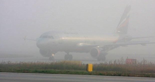 Из-за тумана вСимферополь нелетят самолеты