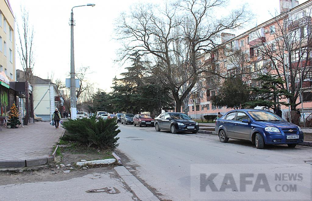 Фото - Транспортный коллапс в Феодосии