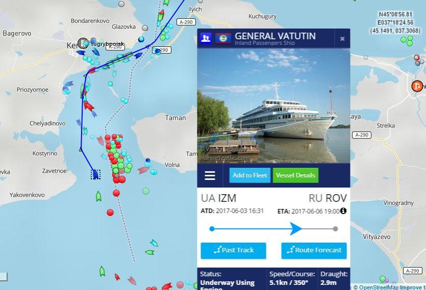 Почему «Ватутин» идет вРФ: версия таможенников  ислужбы портов