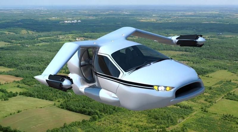 В Дубаи представили первый в мире'летающий автомобиль