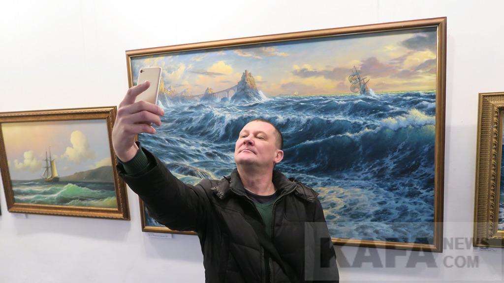 Фото новости - В Феодосии международная акция «Музейное селфи» не удалась(фоторепортаж)
