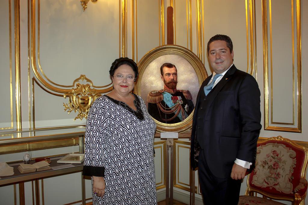 Руководитель дома Романовых великая княгиня Мария Владимировна прибыла вКрым