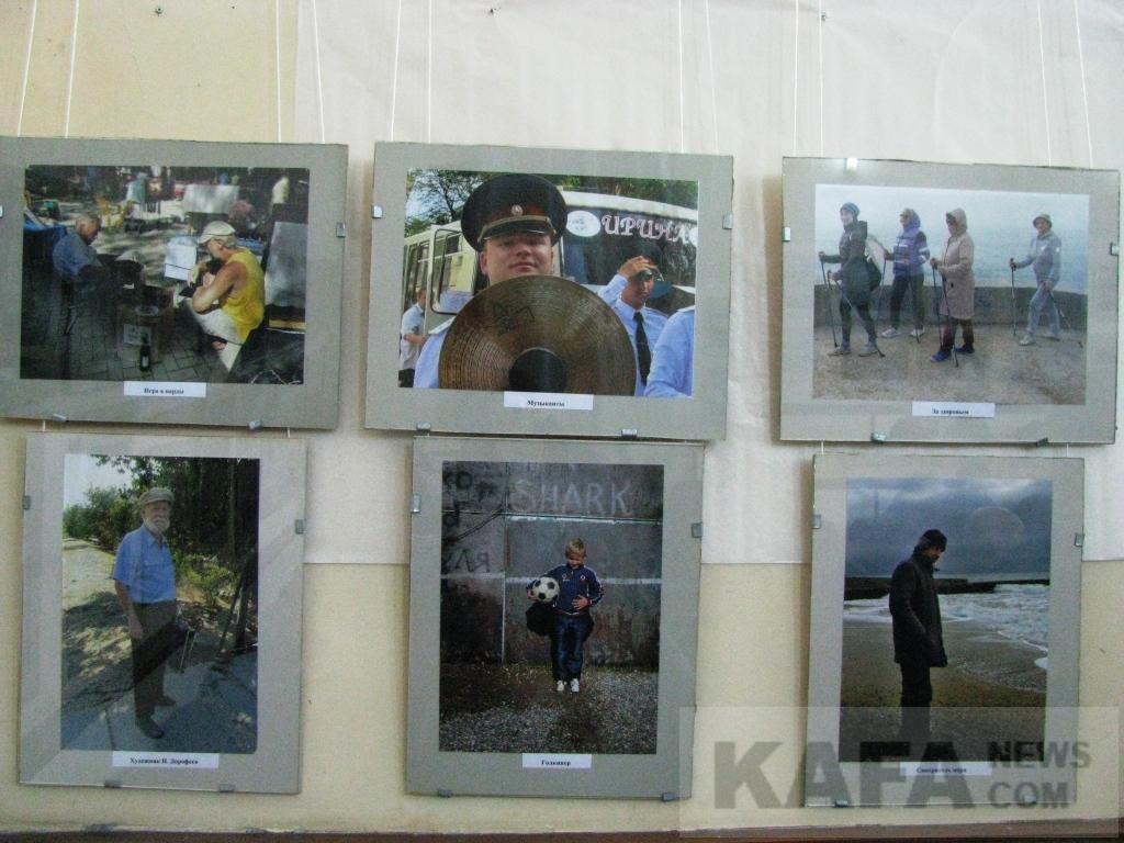 Фото новости - В Феодосии открылась персональная выставка В. И. Астафьева
