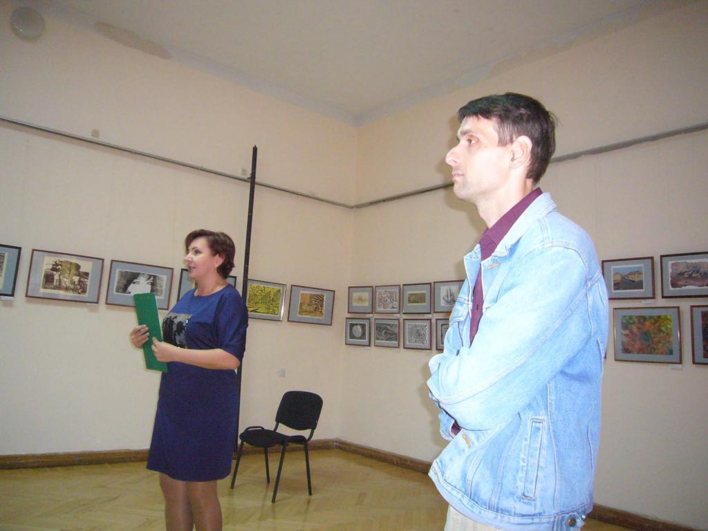 Фото новости - В Феодосии открылась выставка Дениса Волкова (видео)(фоторепортаж)