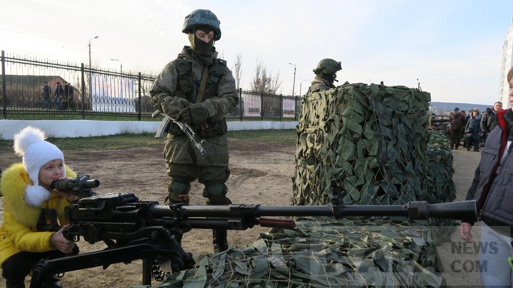 Отдельный батальон ВДВ появился вКрыму