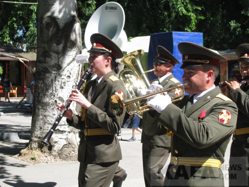 Фото новости - В Феодосии прошел фестиваль военных оркестров (видео)(фоторепортаж)