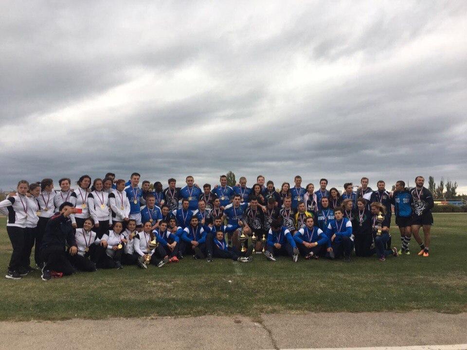 Фото новости - В Феодосии прошел финал Студенческой лиги по регби-7