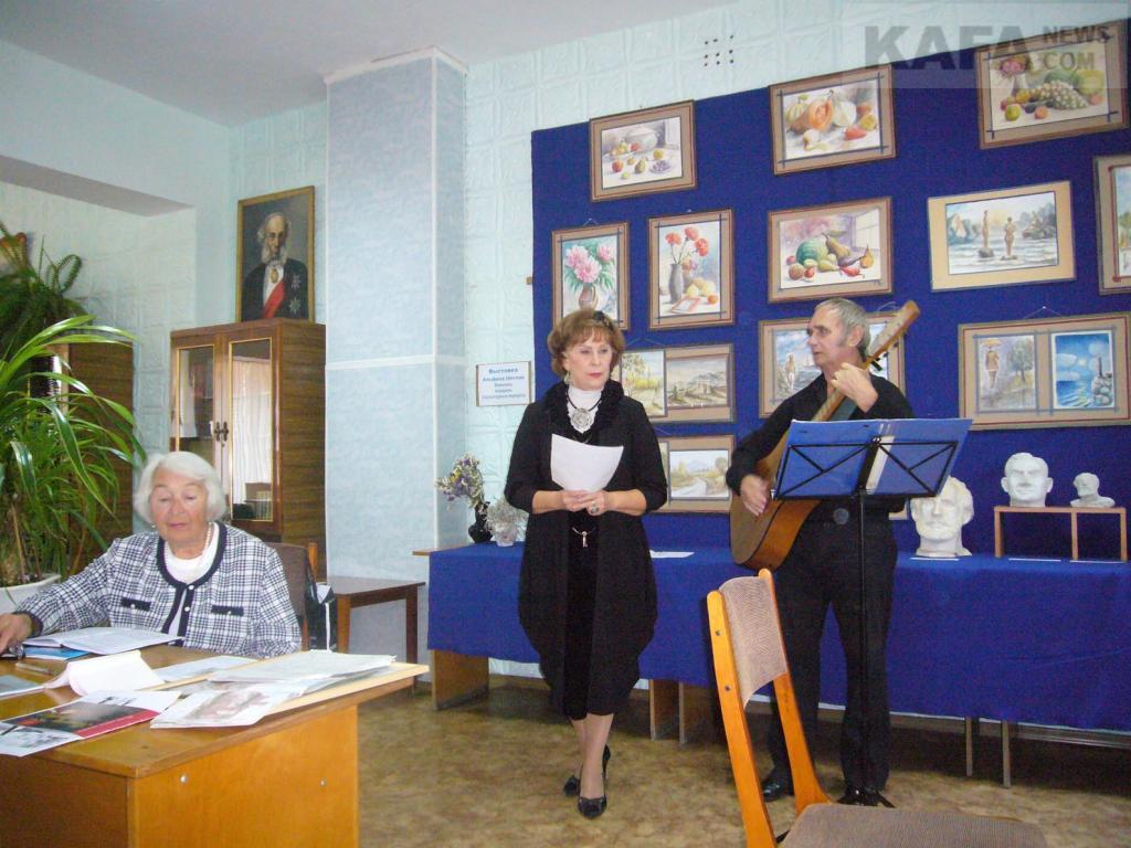 Фото новости - В Феодосии прошел вечер памяти Киркевича (видео)(фоторепортаж)