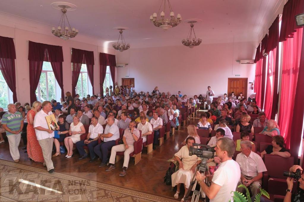 Фото новости - В Феодосии прошло торжественное собрание ко Дню города (видео)(фоторепортаж)