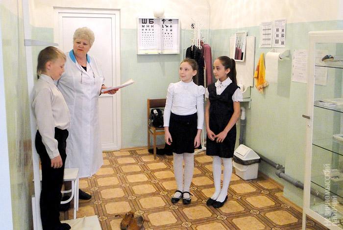 Фото новости - В Феодосии сокращают школьных медработников
