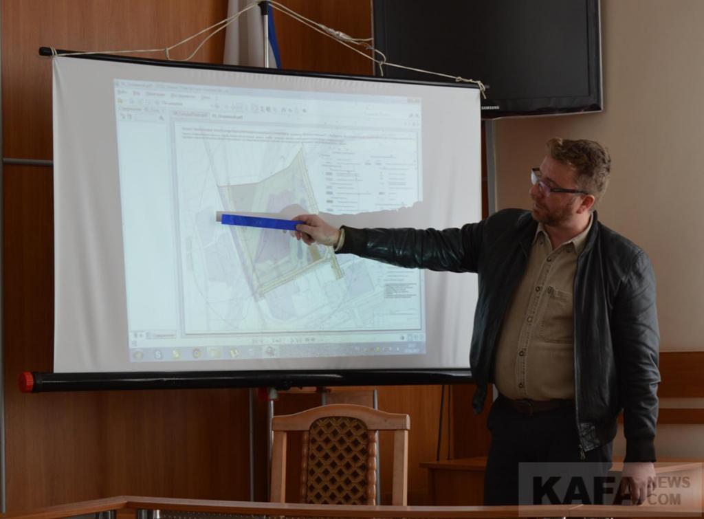 Фото новости - В Феодосии в «Ближних Камышах» появится нефтеперерабатывающий комплекс(фоторепортаж)