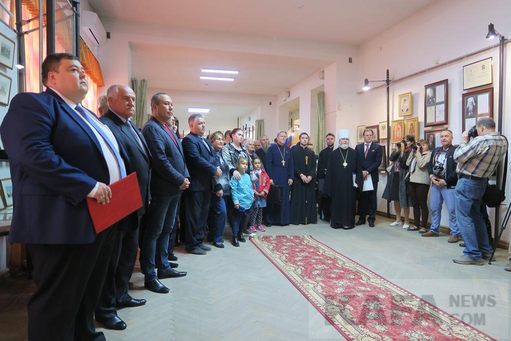 Фото новости - В Феодосийском музее древностей открылась выставка, посвященная Дому Романовых (видео)(фоторепортаж)