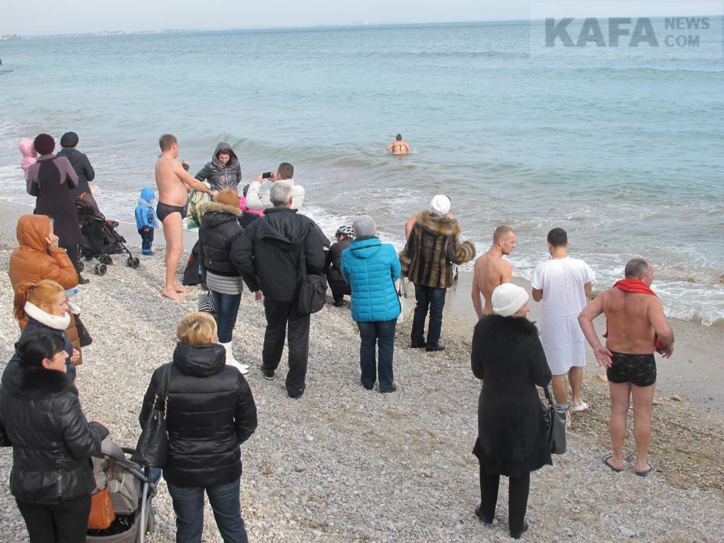 Фото - В Феодосийском округе пройдут Крещенские купания