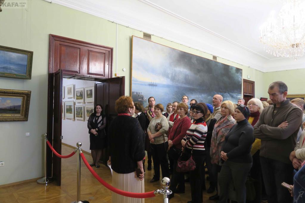 Фото новости - В галерее Айвазовского отметили 147 лет со дня рождения Богаевского (видео)(фоторепортаж)