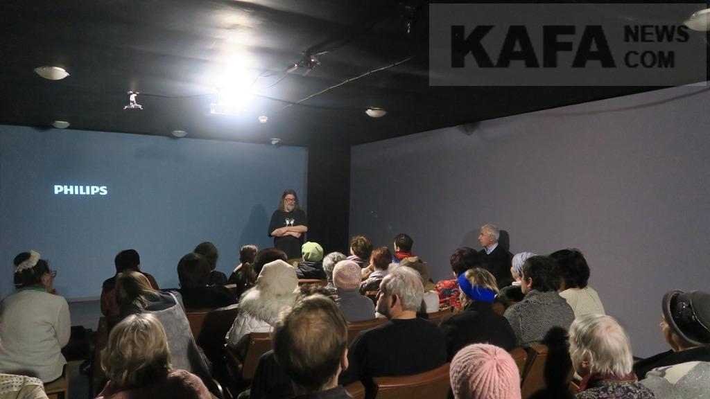 Фото новости - В картинной галерее Айвазовского прошло второе собрание киноклуба (видео)(фоторепортаж)